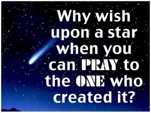 Why wish on a star
