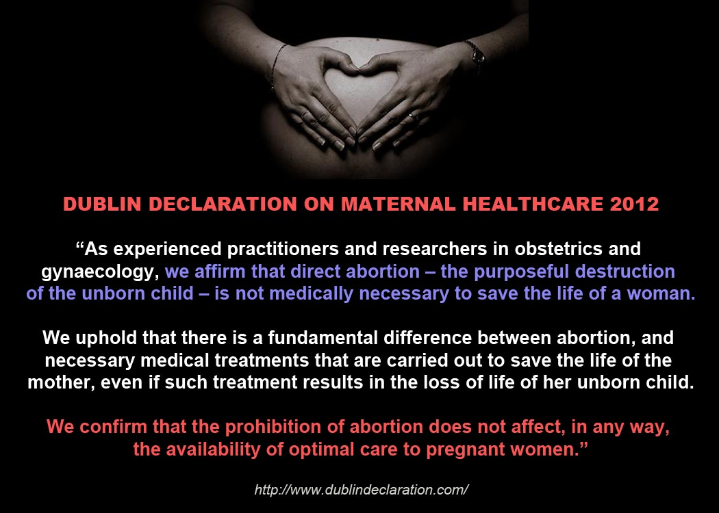 the threats of abortion to the mothers health The death of savita halappanavar five years legal availability of abortion in circumstances where the mother's health to justify abortion.