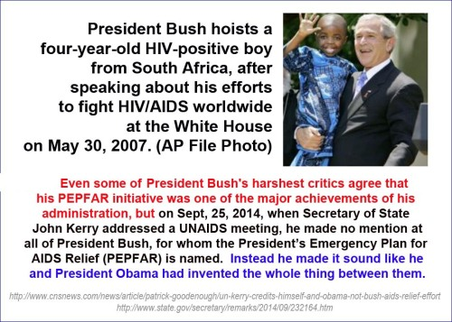 2014_09 25 Kerry takes credit for PEPFAR