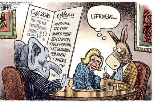 2015 HILLARY leftovers