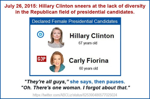 2016 Female candidates