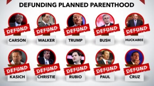 GOP candidates defund PP