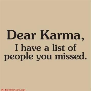 KARMA I have a list