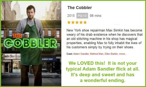 MOVIE The Cobbler