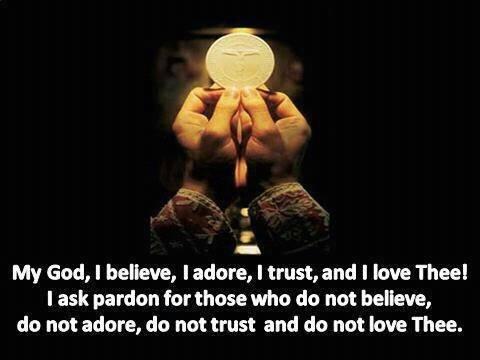 My God, I believe