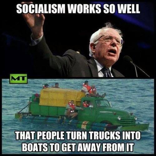 SOCIALISM people escape