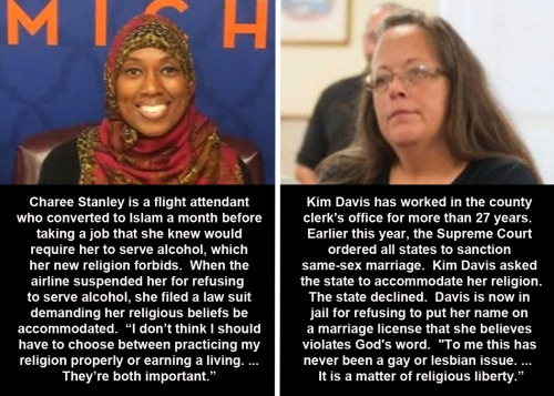 Charee Stanley vs Kim Davis