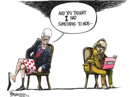CLINTON Bill and Hillary dirt