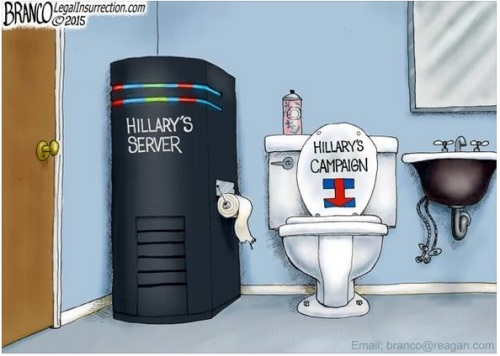 Hillary's server and campaign