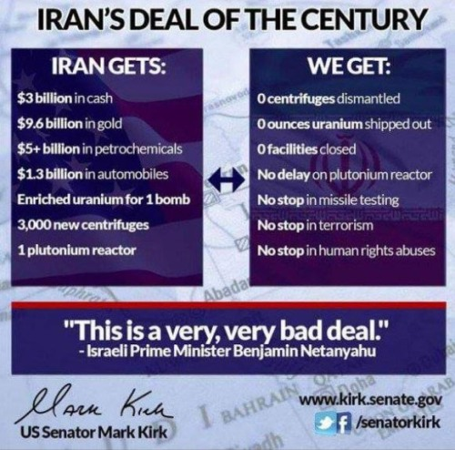 IRAN deal of the century