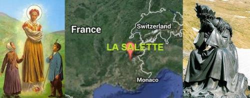 La Salette banner graphic