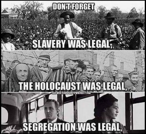 LEGAL vs MORAL