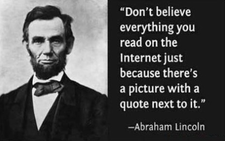 Lincoln internet quotation