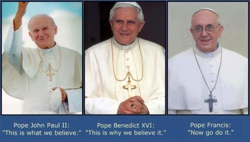 Three popes