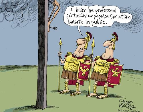 TOON Jesus unpopular politics