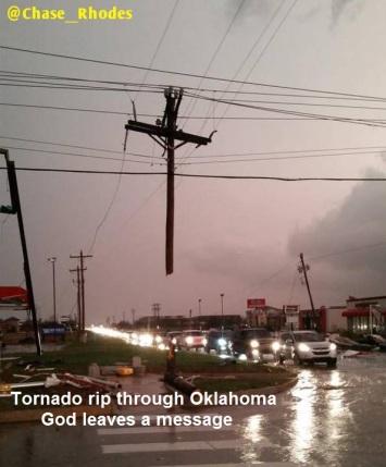 2015 Tornado - God's msg