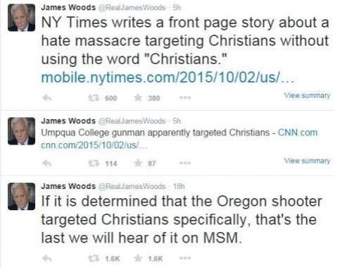 2015_10 02 Woods on mass murder of Christians in Oregon
