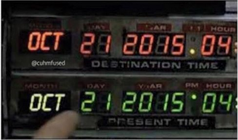 2015_10 21 Back to the Future Day