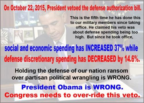 2015_10 22 BHO veto defense