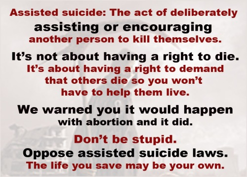 ASSISTED SUICIDE no