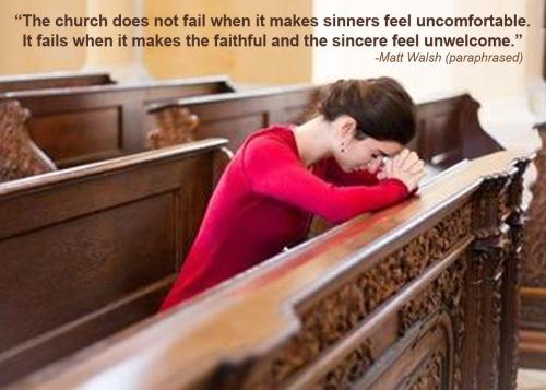 Church failure