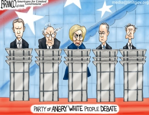 Dem Angry White People
