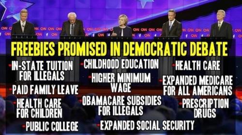 Dem debate - Socialism unhinged