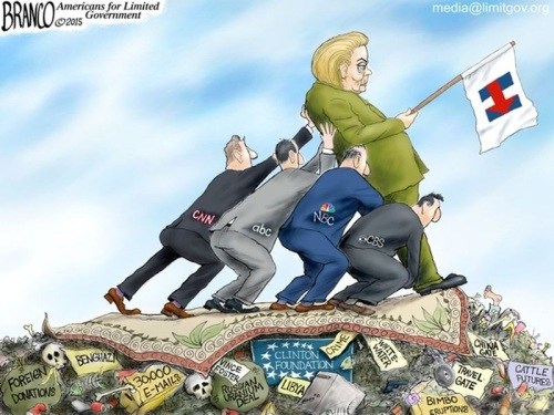 HILLARY 2016 and the MEDIA