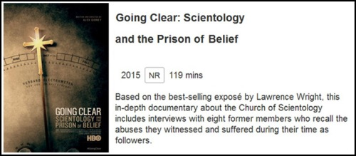MOVIE Going Clear Scientology