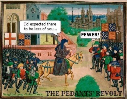 Pedant's revolt