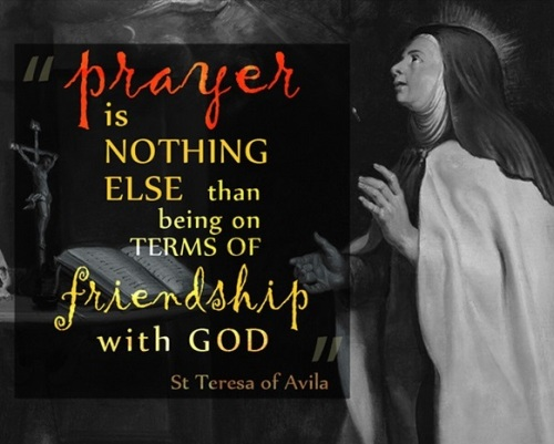 Prayer T of Avila