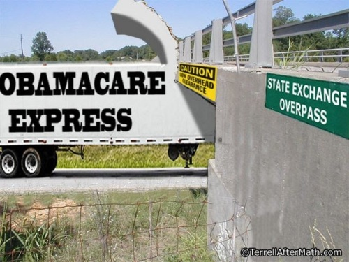 2014_11 14 Obamacare Express by Terrell
