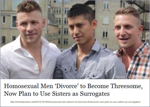 2015_10 18 Gay threesome want to marry and parent