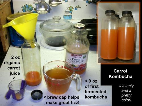 2015_11 10 Carrot kombucha