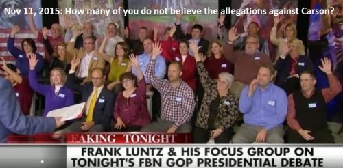 2015_11 11 Luntz focus group after GOP debate