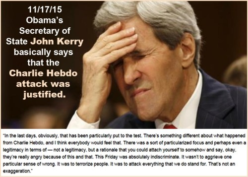 2015_11 17 Kerry says Hebdo justified