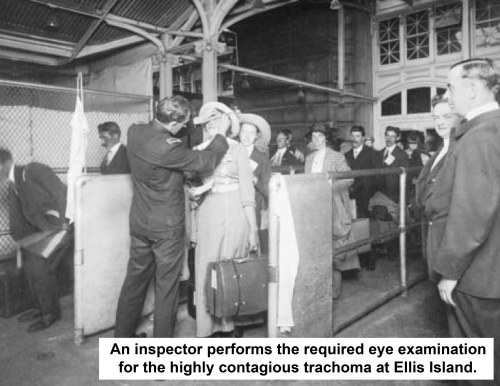 Ellis Island doctor