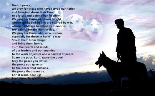 Happy Veterans Day Prayers Of The Faithful