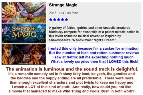 MOVIE Strange Magic