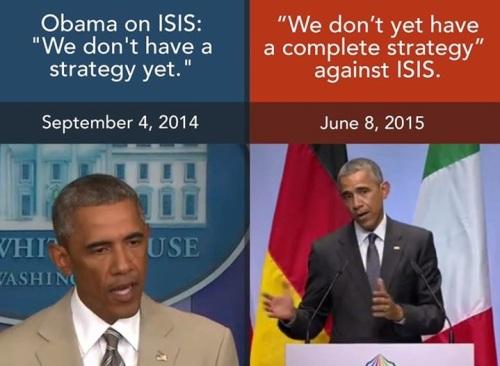 OBAMA no ISIS strategy