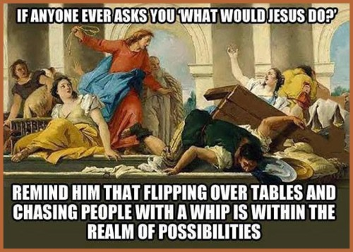 WWJD turning tables