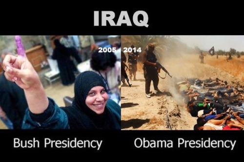 2015 Bush v Obama IRAQ