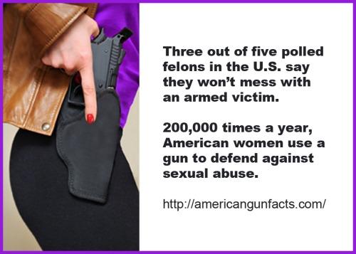 Armed women