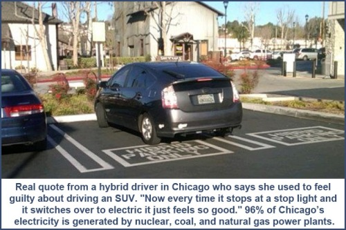 Hybrid parking and electricity