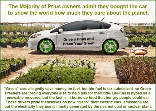 Prius preen green