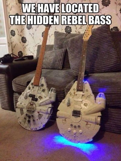 SCI FI STAR WARS We have located hidden rebel bass