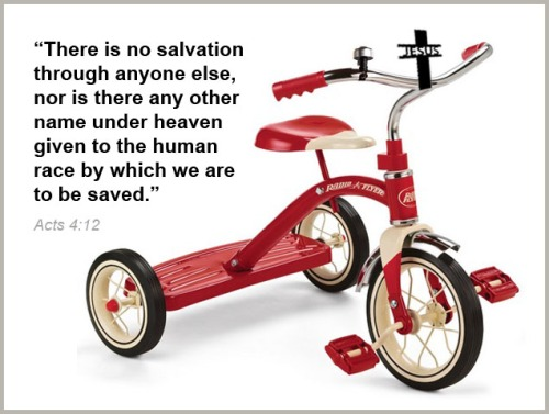 TRICYCLE small red