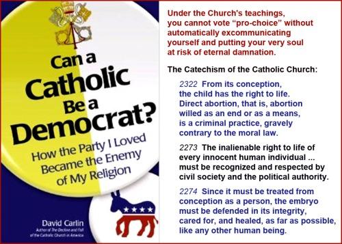 Catholic Democrat NOT