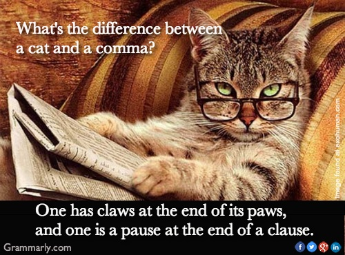 CAT and comma