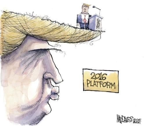 2016 Trump platform